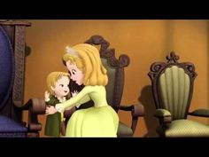 Sofia the first two princesses and a baby two song - YouTube
