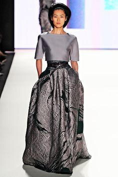 Carolina Herrera | fall trends for women - shades of grey