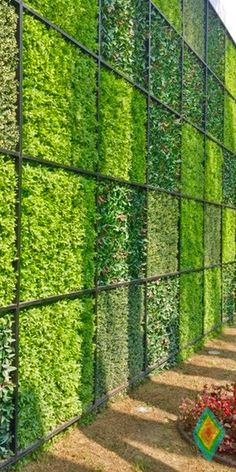 Wanna talk artificial hedge panels a great way to for Jardin vertical artificial