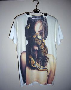 Man VS Python Shirt Animal Tshirt Snake Shirt Animal T-Shirt  Men Tshirt Women T Shirt Top Medium Tee Unisex T-Shirt Size M