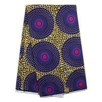 (12yards/lot)Brown&purple big eyes ankara african wax print fabric 2016 new super wax hollandais for quilting (Oct-3-2016)