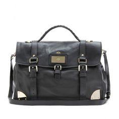 Mulberry oversized travel ledertasche, in brown please.