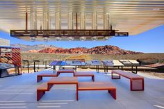 Red Rock Canyon Visitor Center, NV