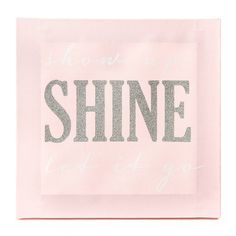 Show Up Shine Let it Go Wall Canvas
