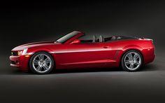 Chevrolet Camaro Red Zone Concept Profile