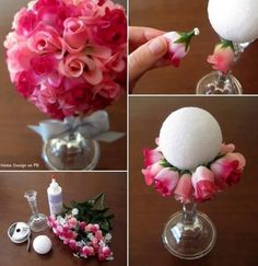 DIY CenterpiecesThese Are So Cute! I Might Make Them For My Quinceanera