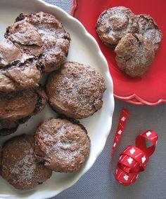 Flourless Fudge Cookies #SundaySupper