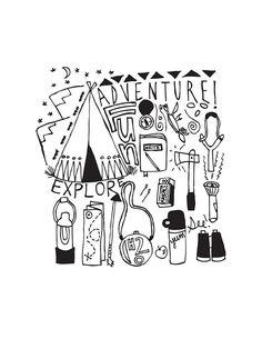 adventureprint   by IROCKSOWHAT