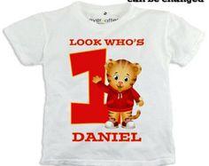 25% OFF SALE Digital Daniel Tiger's Neighborhood Printable iron on transfer T-shirt