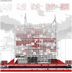 'Redesigning Detroit: A New Vision for an Iconic Site' Competition Entry,Courtesy of H Architecture