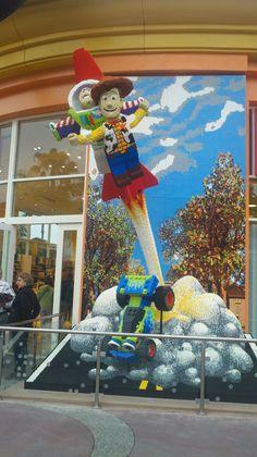 Legos at Downtown Disney
