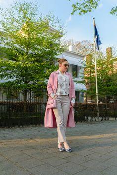 Spring look with Zara coat