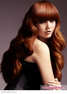 Amazing Long Red Hairstyle  Long Hairstyles pictures  Make a long term beauty investment and embrace this amazing long red hairstyle to stand out from the rest of the crowd. Use smoothing cream to keep frizz at bay.