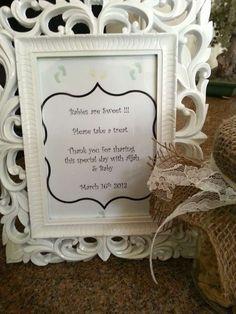 Creative baby shower idea #babyshower #babyshowertheme www.topsecretmate...