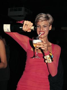 Give me Ladies of the 80's! (or was it technically the 90's?) Linda Evangelista ( VIP Fashion Australia www.vipfashionaustralia.com - international clothes shop )