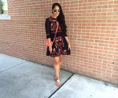 French Connection, embroidered dress, spring fashion pinterest, pinterest spring outfits, Outfit of the Day, ootd, ootn, city living, philadelphia, philly fashion, fashion blog, weekend, summer fashion, fashion 2016, fashion inspiration, summer outfit, outfit inspiration, fashion, style, cute summer outfit, simple summer outfit, simple outfit