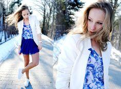 White Spring (by Natalia Pośnik) http://lookbook.nu/look/4717473-White-Spring
