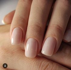 neutral nails with sparkle ; neutral nails with accent ; neutral nails for pale skin ; Neutral Nail Color, Nail Colors, Neutral Acrylic Nails, Neutral Art, Milky Nails, Manicure Y Pedicure, White Manicure, Manicure Ideas, Nagel Gel