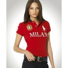 Ralph Lauren Pony Red Milan Short Sleeved Polo!$34.35