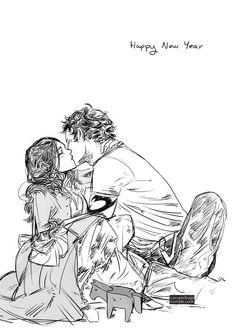 Will and Tessa. By Cassandra Jean.