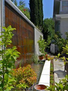 wasserspiele-garten-klein-terrasse-teich-anlegen | home sweet home, Gartengestaltung
