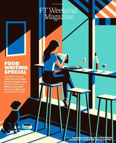 FT Weekend Magazine (London, UK). Illustration - Malika Favre