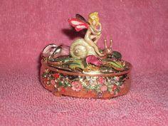 Kirks Folly Remember The Magic Rose Fairy Trinket Box