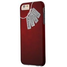 Sing, Live, Dance and Love on Red Smoke for all Cell phones: seen here on Tough iPhone 6 Plus Case