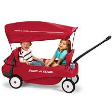 Radio Flyer Pack And Go Canopy Wagon