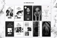 Noir Beauty Insta Stories — Presentation on Blog Banner, Banner Ideas, Social Media Design, Insta Story, Ig Story, Instagram Story, Instagram Design, Instagram 4, Stores