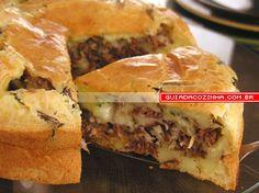 Receita de Bolo de pão de queijo recheado   Guia da Cozinha