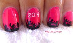 Happy New Year 2014 Nails!