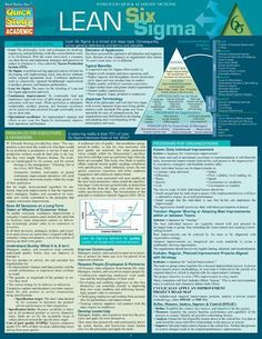 Lean Six Sigma – Laminated Reference Guide - business management Lean Six Sigma, Change Management, Business Management, Business Planning, Knowledge Management, Program Management, Visual Management, Innovation Management, Amélioration Continue