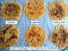 Parmesan Crisps 3 Ways - LCL 2
