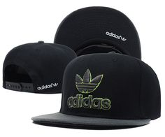 Adidas Snapbacks Caps Cheap Snapbacks Hats Black 001 7746