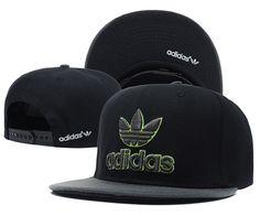 Adidas Snapbacks Caps Cheap Snapbacks Hats Black 001 7746