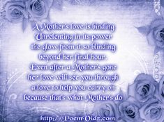 Deceased Mother Poems and Funeral Poems for Mother Birthday Greetings For Mom, Mother Birthday Quotes, Birthday Poems, Birthday Wishes Funny, Mothers Day Quotes, Dad Quotes, Best Friend Quotes, Love Quotes, Birthday Bash