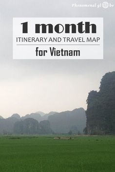 A 1-month travel itinerary around Vietnam, including Hanoi, Halong Bay, Tam Coc, Hue, Hoi An, Dalat, Ho Chi Minh city and Phu Quoc. Read all about this wonderful and interesting country in Southeast Asia!