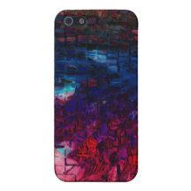Make a fashion statement with the deep rich colors of this Night Street case For iPhone SE/5/5s.