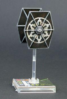 Star Wars X-Wing Miniatures | TIE fighter repaint