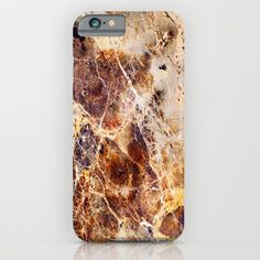 Brown Marble iPhone & iPod Case - Stunning, case designs for your iPhone or Android cell phones. A beautiful accessory that will help protect your smart phone!