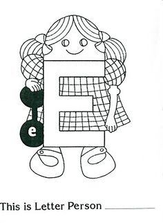 Letter People Coloring Pages Bing Images Coloring Pages
