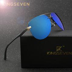 e90f657ca4 KINGSEVEN Aluminum Magnesium Polarized Sunglasses Men Driver Mirror Sun  glasses Male Fishing Female Eyewear For Men olta tarpon     AliExpress  Affiliate s ...