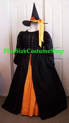 HARVEST WITCH Plus Size Halloween Costume Adult Womens Size 5X - 34/36W - 4 pcs New. $250.00, via Etsy.
