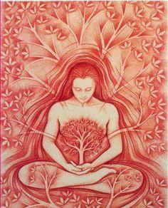remote shamanic healing journeys done for you Psychedelic Art, Yoga Kunst, Art Visionnaire, Sacred Feminine, Goddess Art, Yoga Art, Visionary Art, Sacred Art, Mother Earth