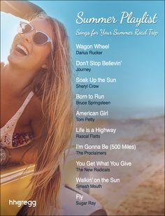 Grab your keys & snacks, we'll take care of the rest with our summer road trip playlist