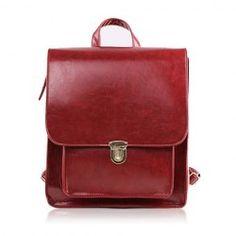 $11.83 Stylish Women's Satchel With Push-Lock and PU Leather Design