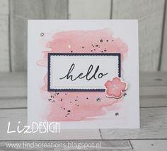 LiZ Design: Hello Again!, Watercolor Wishes Card Ki