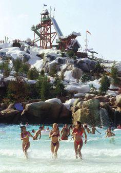 Walt Disney World, Disney's Blizzard Beach Water Park - Melt-Away Bay