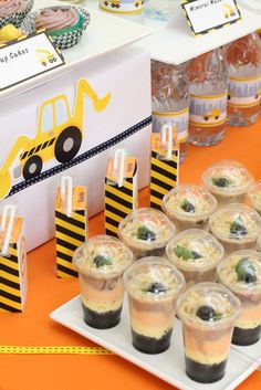 Construction Birthday Party Ideas